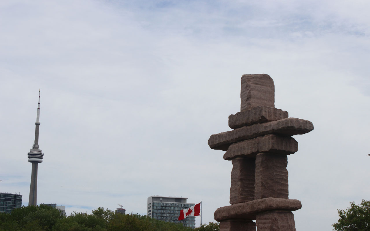 Toronto Inukshuk Park City Of Toronto