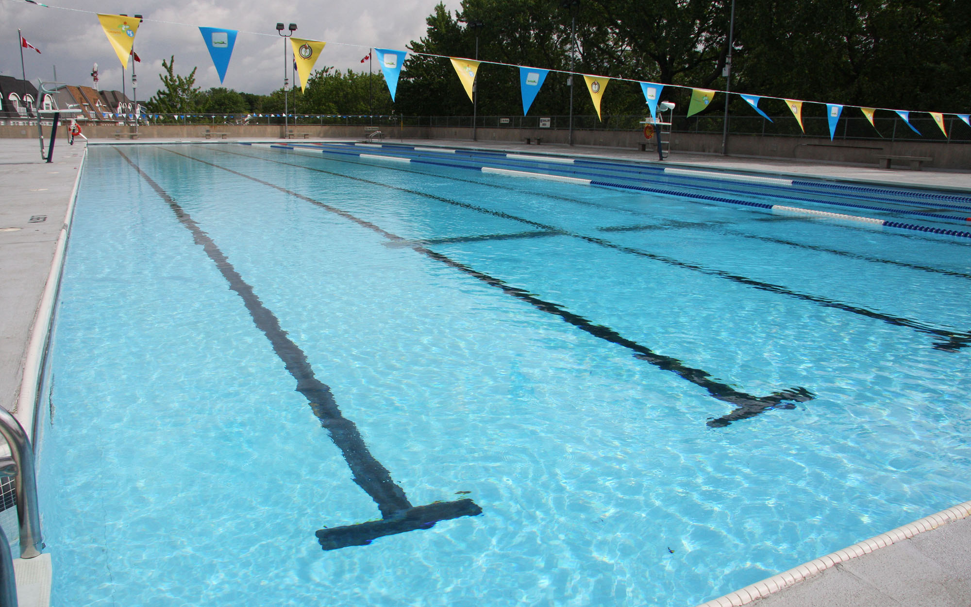 Lap Pool At Donald D Summerville Olympic Pools