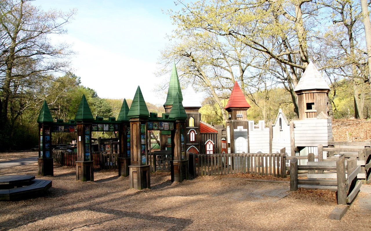 Jamie Bell Playground in High Park