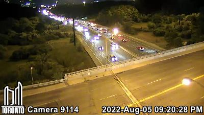 Webcam of Don Valley Parkway at Lawrence