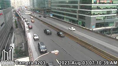Webcam of Gardiner Expressway at York