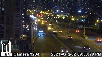 Webcam of Gardiner Expressway at Skydome
