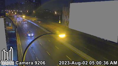 Webcam of Gardiner Expressway at Bathurst