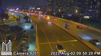 Webcam of Gardiner Expressway at Strachan