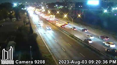 Webcam of Gardiner Expressway at Dufferin