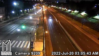 Webcam of Gardiner Expressway at Dowling