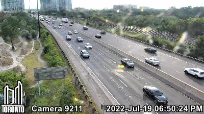 Webcam of Gardiner Expressway at Ellis