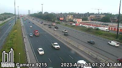 Webcam of Gardiner Expressway at Grand Avenue