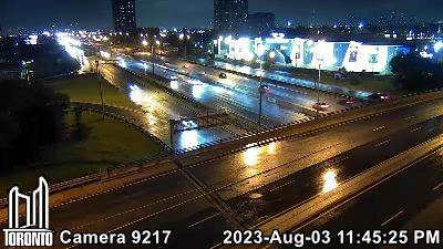 Webcam of Gardiner Expressway at Islington
