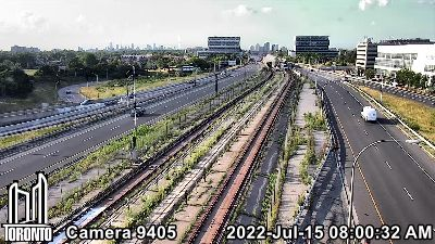 Webcam of Allen Expressway at Hwy 401