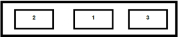 Figure 2 a displays three blank flags side by side.