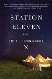 Toronto Book award winner cover art Station Eleven Harper Avenue by Emily St. John Mandel