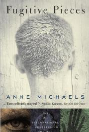 Toronto Book award winner cover art - Fugitive Pieces published by McClelland & Stewart written by Anne Michaels