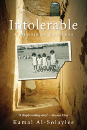 Toronto Book award winner cover art - Intolerable: A Memoir of Extremes published by Harper Collins written by Kamal Al-Solaylee