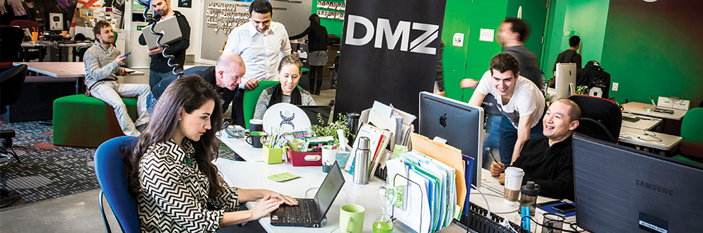 Business-start-ups at DMZ