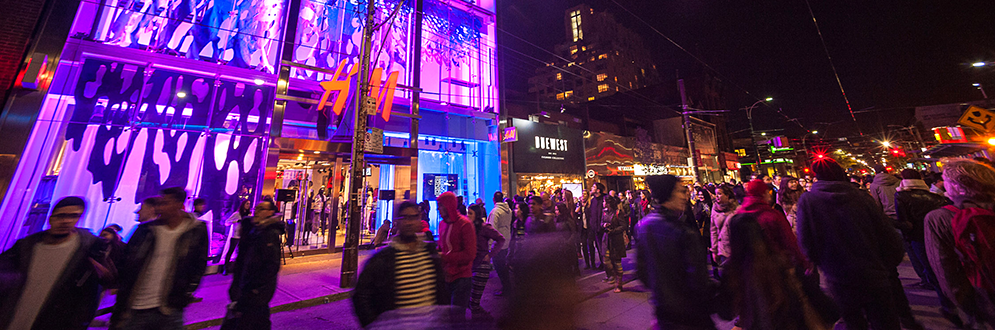 H&M's Coalesce at Nuit Blanche Toronto 2014