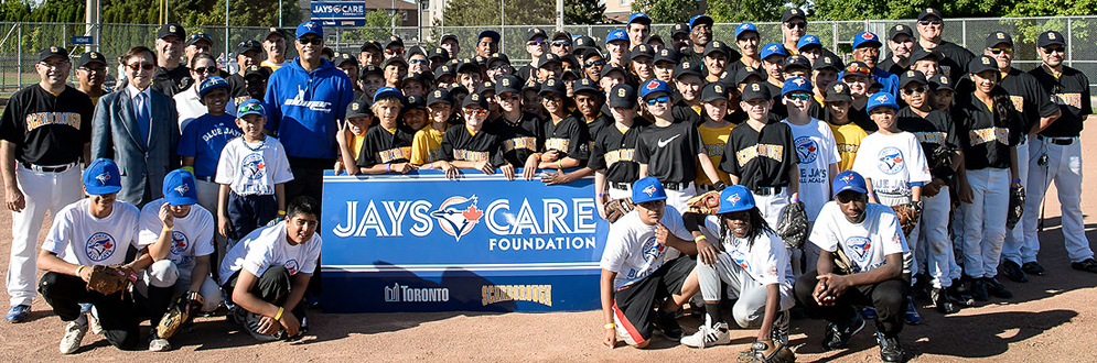 Jays Care Foundation and the City of Toronto