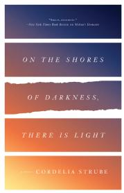 Toronto Book award winner cover art On the Shores of Darkness, There is Light ECW Press by Cordelia Strube