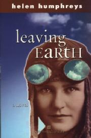 Toronto Book award winner cover art - Leaving Earth published by HarperCollins written by Helen Humphreys