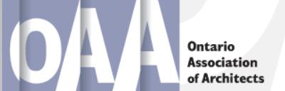 Toronto Urban Design Awards sponsor corporate logo Ontario Association of Architects