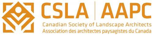 Toronto Urban Design Awards sponsor corporate logo CSLA