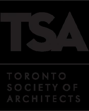 Toronto Urban Design Awards sponsor corporate logo Toronto Society of Architects