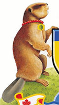 City of Toronto Coat of Arms element - beaver