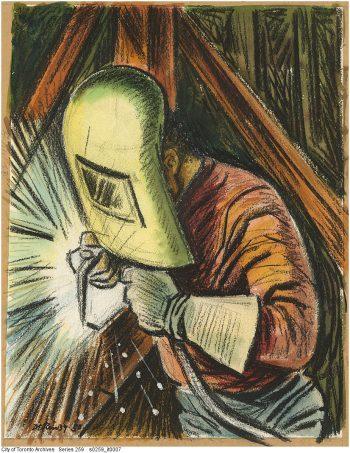 Welder, 1950