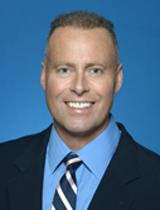 Councillor Jon Burnside's portrait