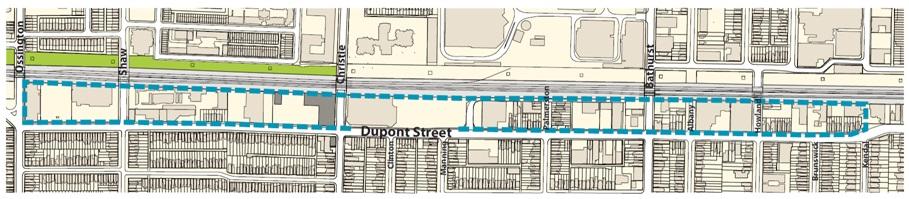 Dupont Corridor Study Area