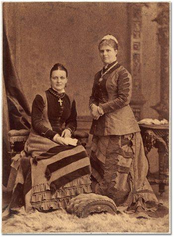 Miss Harriet Goldie and Miss Eliza J. Storrie