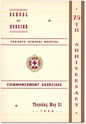 75th Anniversary Commencement Exercises front of card