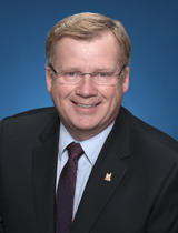 Councillor Gary Crawford's portrait