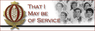 That I May Be Of Service banner
