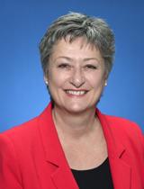 Councillor Janet Davis's portrait