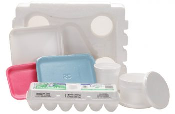 foam polystyrene containers and packages