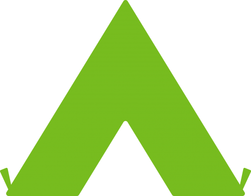 Tent icon representing inclusivity
