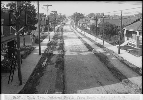 Oakwood Avenue, between Jasmond Avenue and Rogers Road