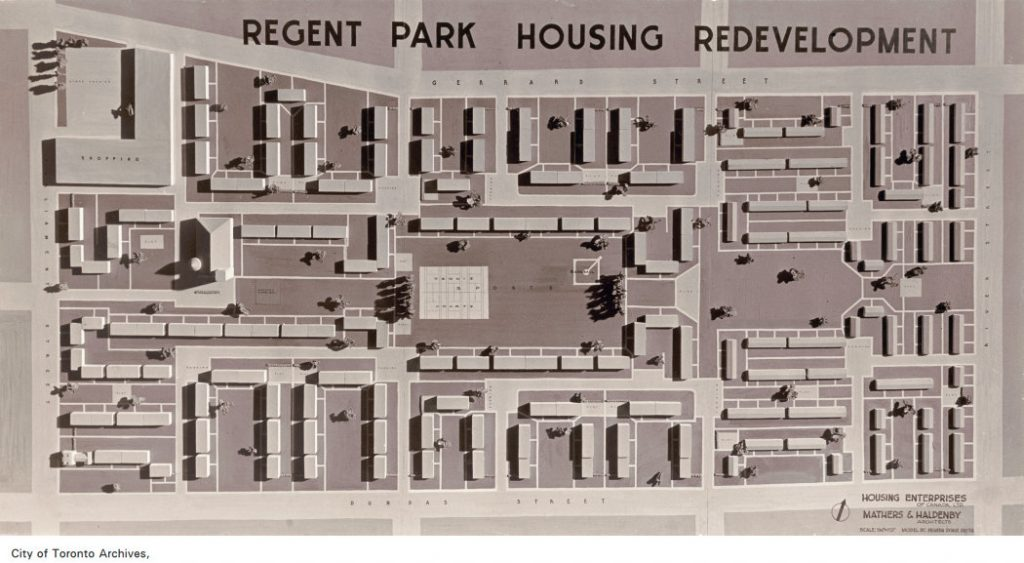 Regent Park area redevelopment
