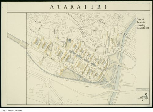 Plan of Ataritiri site, ca. 1988