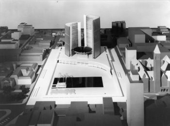 Model of New City Hall and Nathan Phillips Square