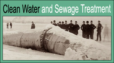 Clean Water and Sewage Treatment.