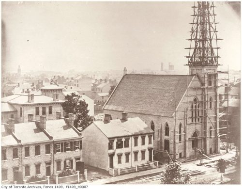 Second United Presbyterian Church under construction