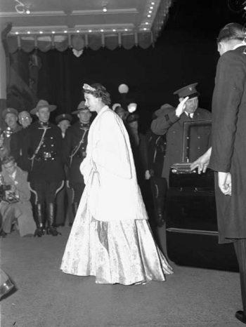 Princess Elizabeth at the Royal York Hotel
