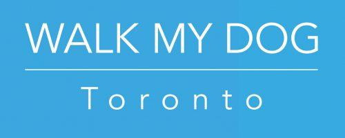 logo for walk my dog toronto