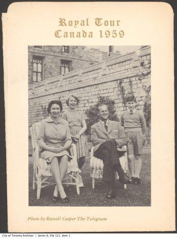 Evening Telegram souvenir portrait of the Royal Family