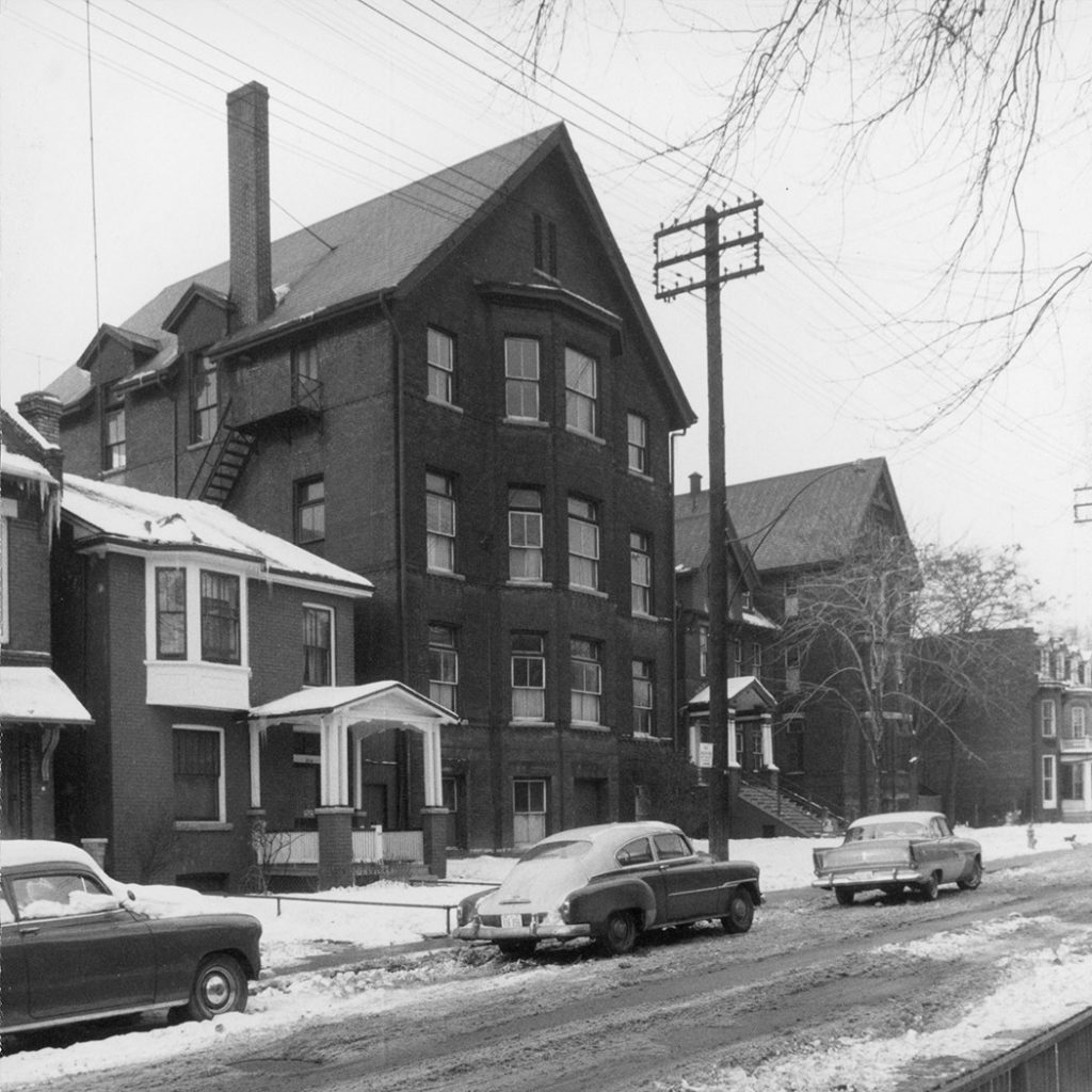 Original Seaton House, 1958