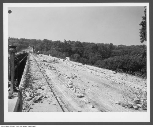 Construction of Bayview Bridge
