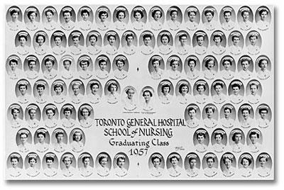 Graduating class of 1957