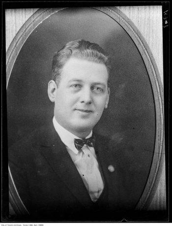 Portrait of Alderman Ernest Bray